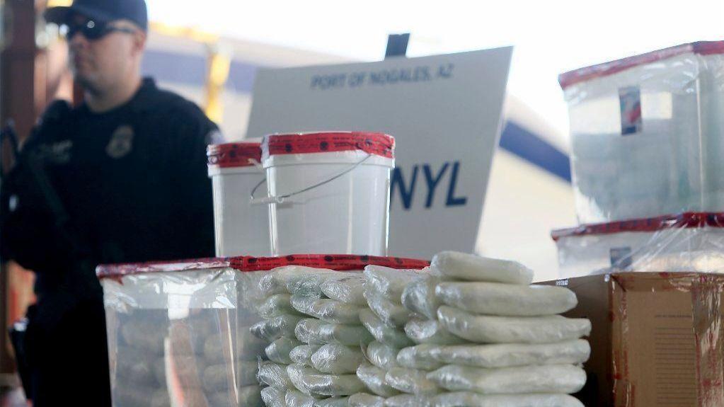 U.S. border officials announce largest-ever fentanyl seizure