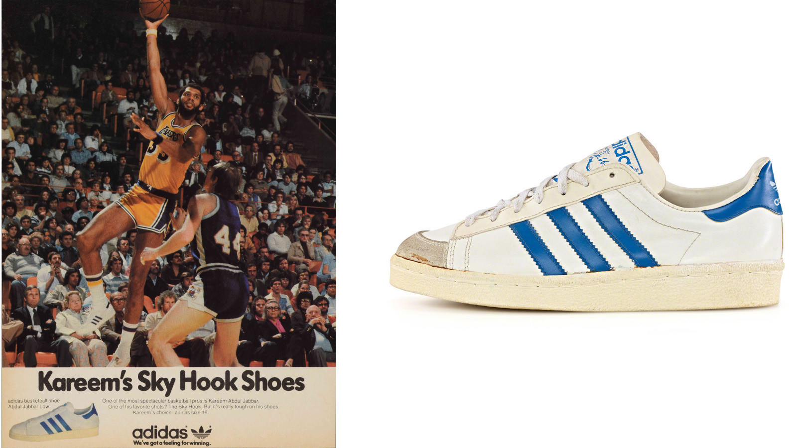 0423e19d0eca Timeline  Highlights from a century of signature kicks - Los Angeles ...