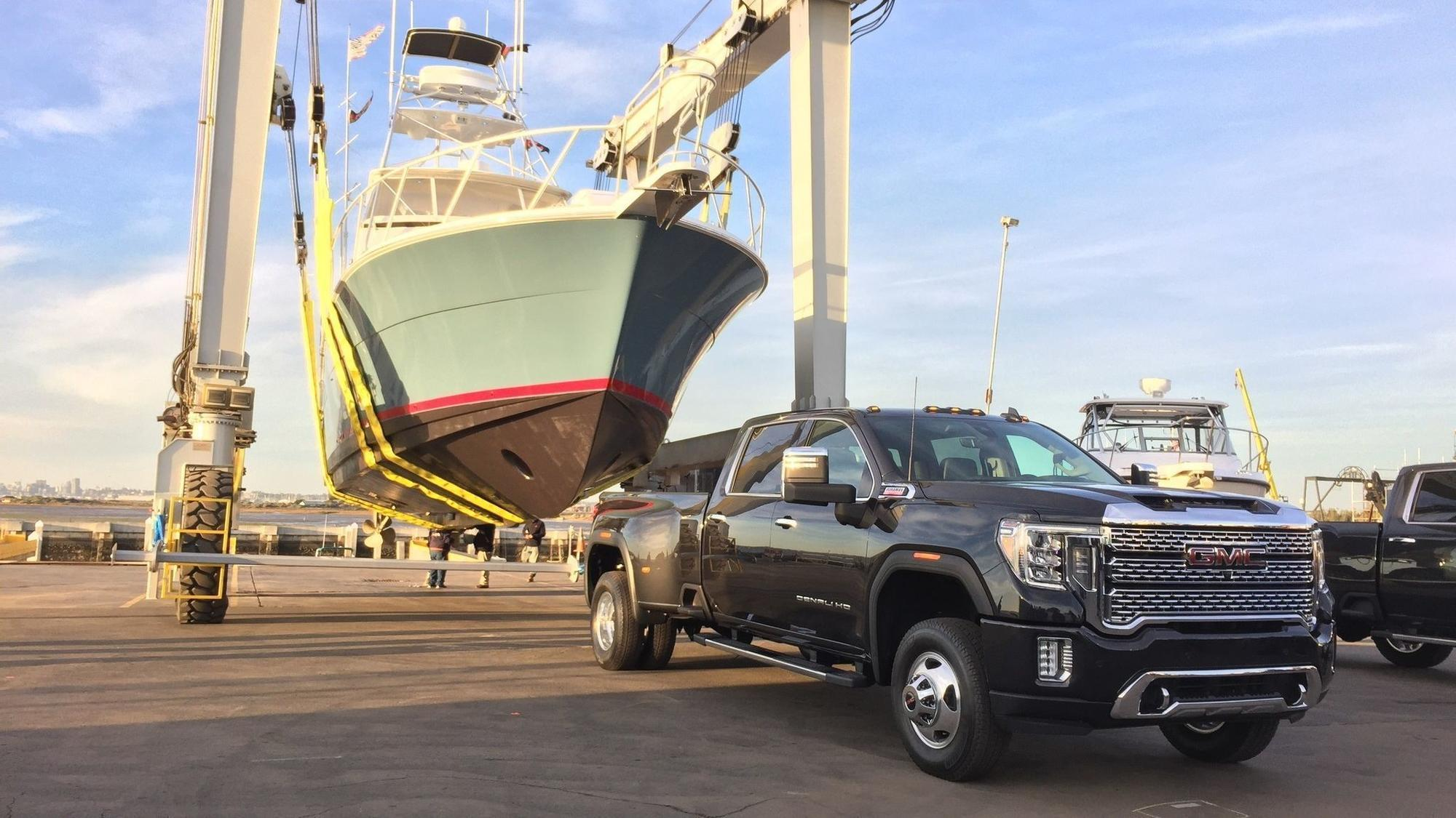 GMC gives first look at redesigned 2020 Sierra Heavy Duty ...