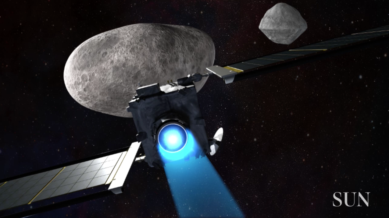 To save the Earth someday, Hopkins team builds spacecraft ...