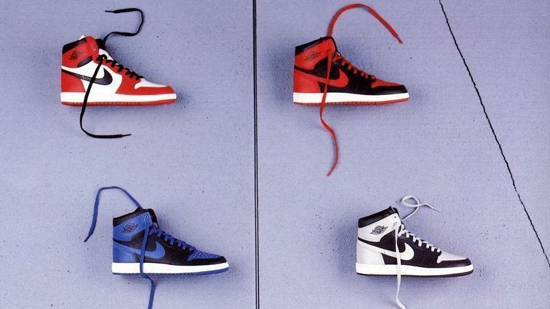 Air Jordan I catalog shot