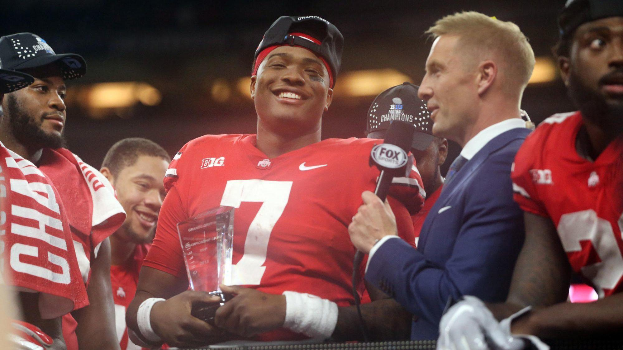280e531e7 Heisman Trophy finalist Dwayne Haskins was destined to select Ohio State.  Next up  Become the next Peyton Manning