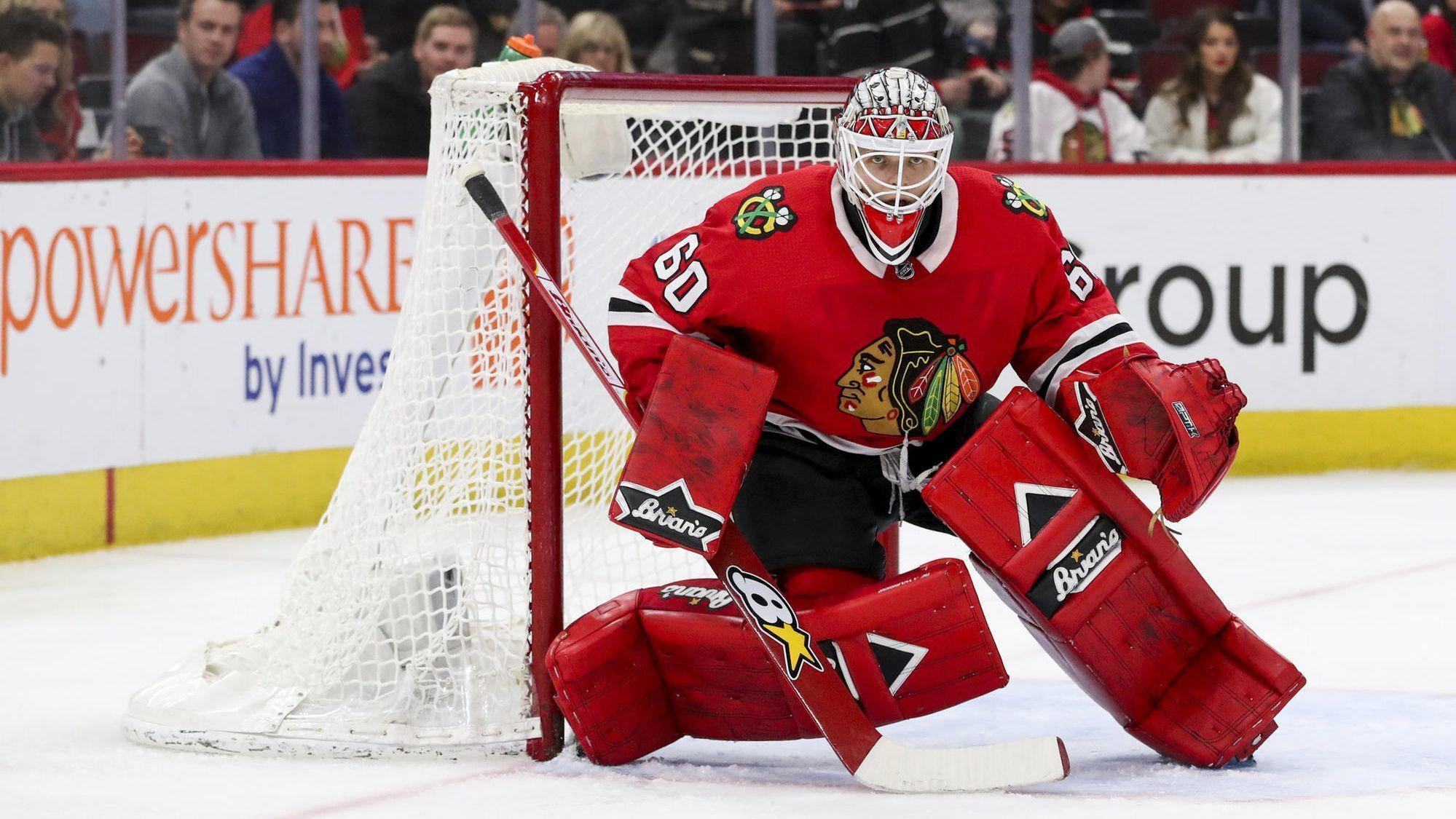 Blackhawks Q A  Which players return next season  Who gets the starts with  Corey Crawford hurt  - Chicago Tribune c65620207c9