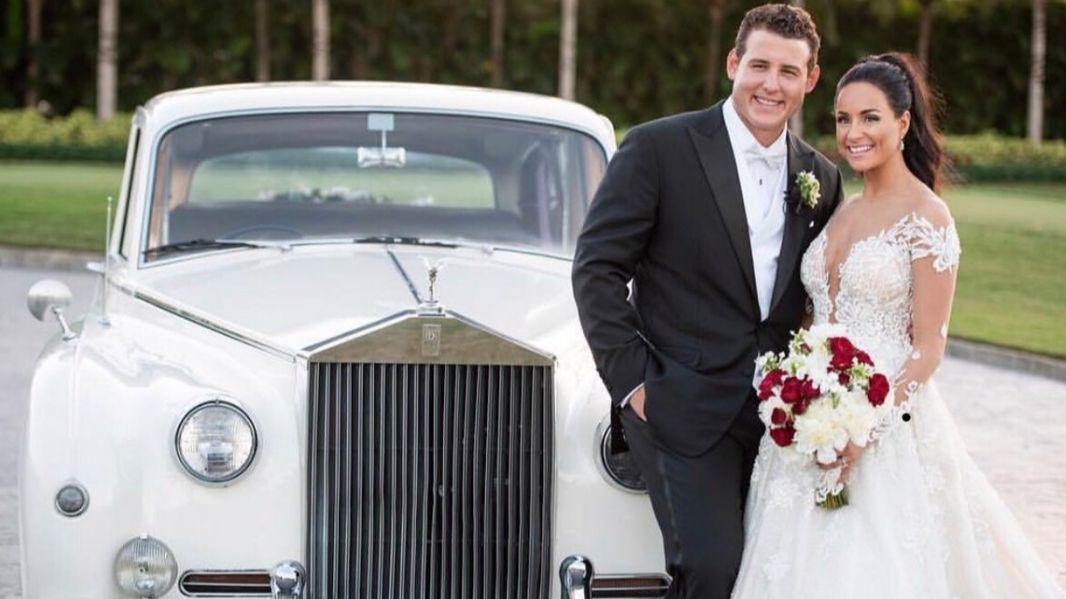 A Weekend Of Sports Weddings: Anthony Rizzo Marries Emily