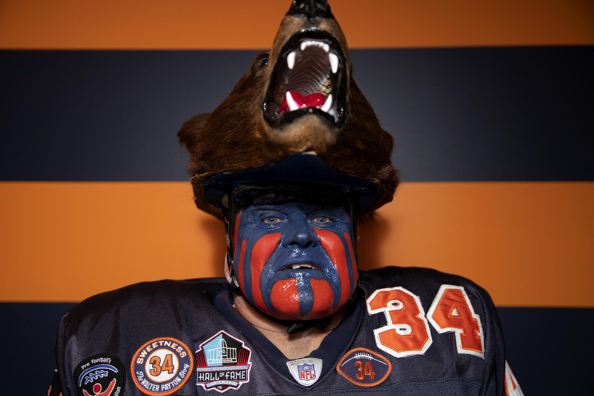 9d723c589b5 'I've been through thick and thin': This Bears superfan has a shot at the  Pro Football Hall of Fame