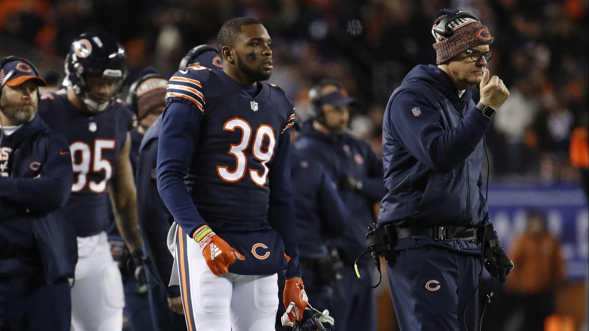 f1b8e75e352 All-Pro safety Eddie Jackson activated but doesn't play in Bears' playoff  loss to Eagles