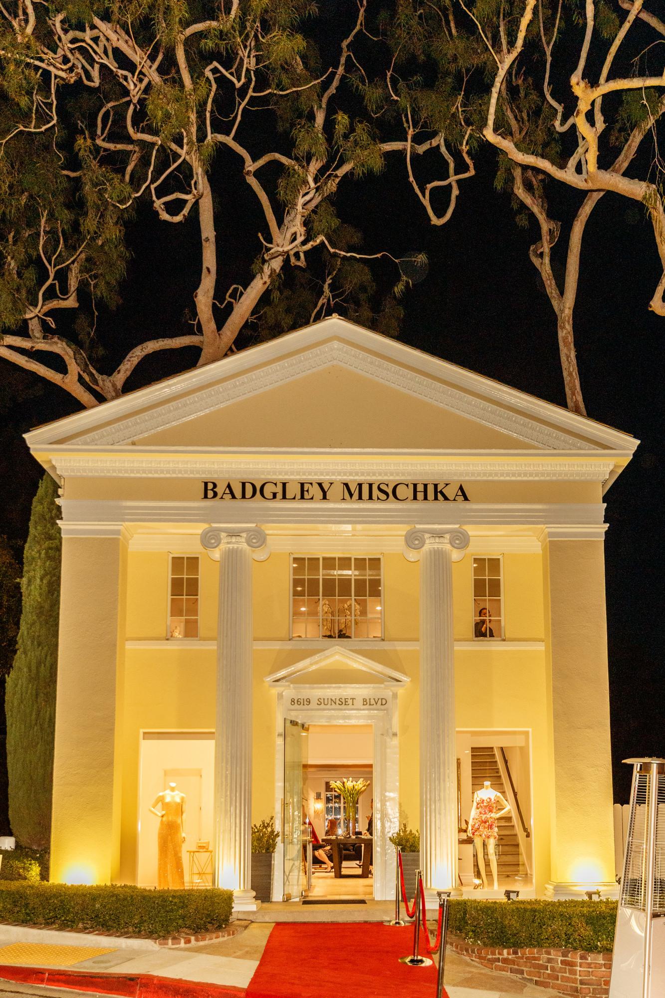 Badgley Mischka Hosts Opening Night Celebration At New Flagship Store