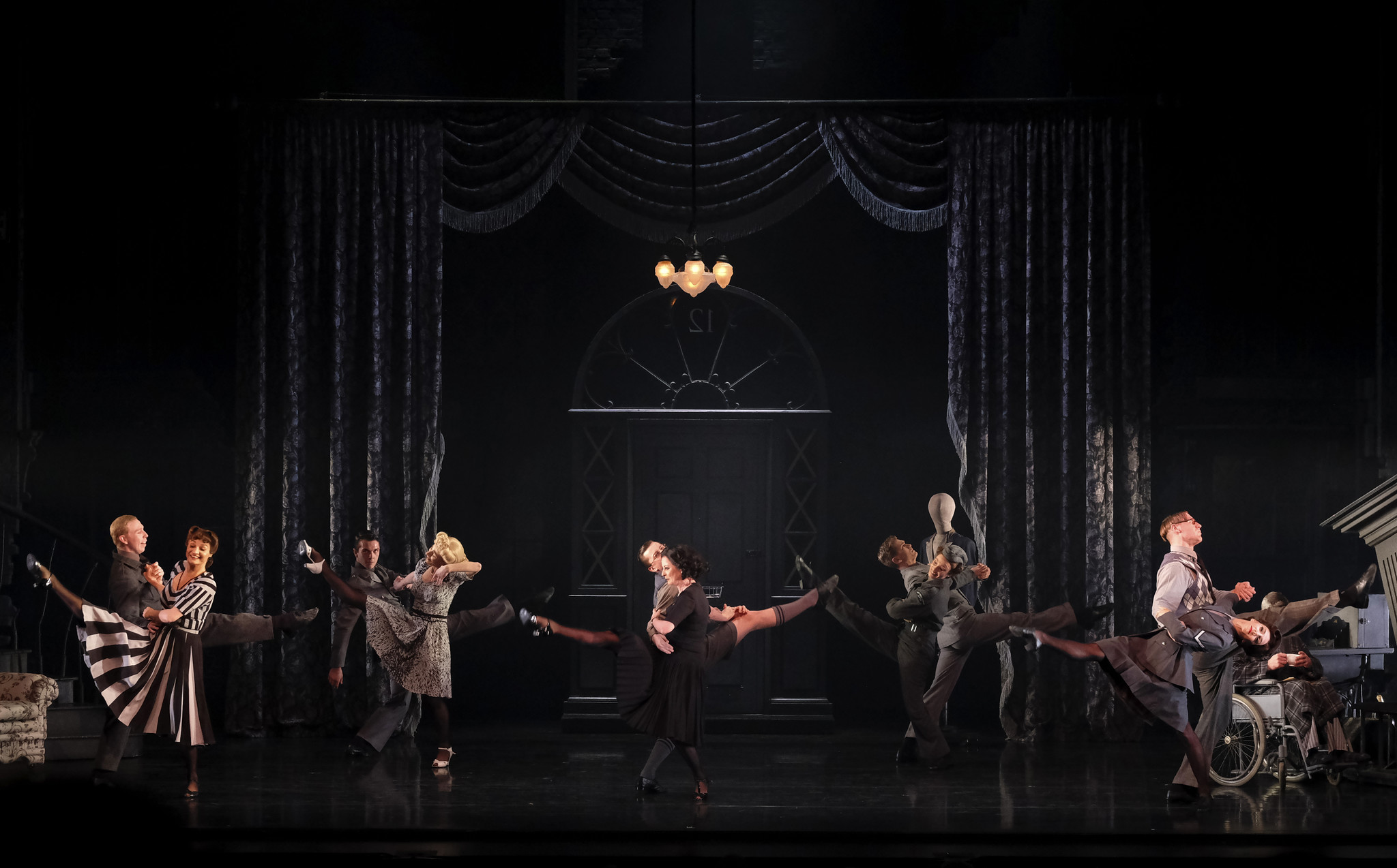 Los Angeles, CA FEBRAURY 6, 2019: Choreographer Matthew Bourne brings his company, New Adventures