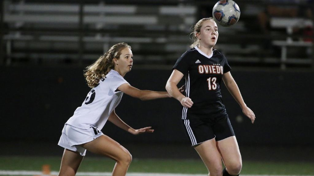 f1e3fe9bc Lake Mary upsets Oviedo to advance in girls soccer region tournament.  Orlando Sentinel - 22 00 PM ET February 08