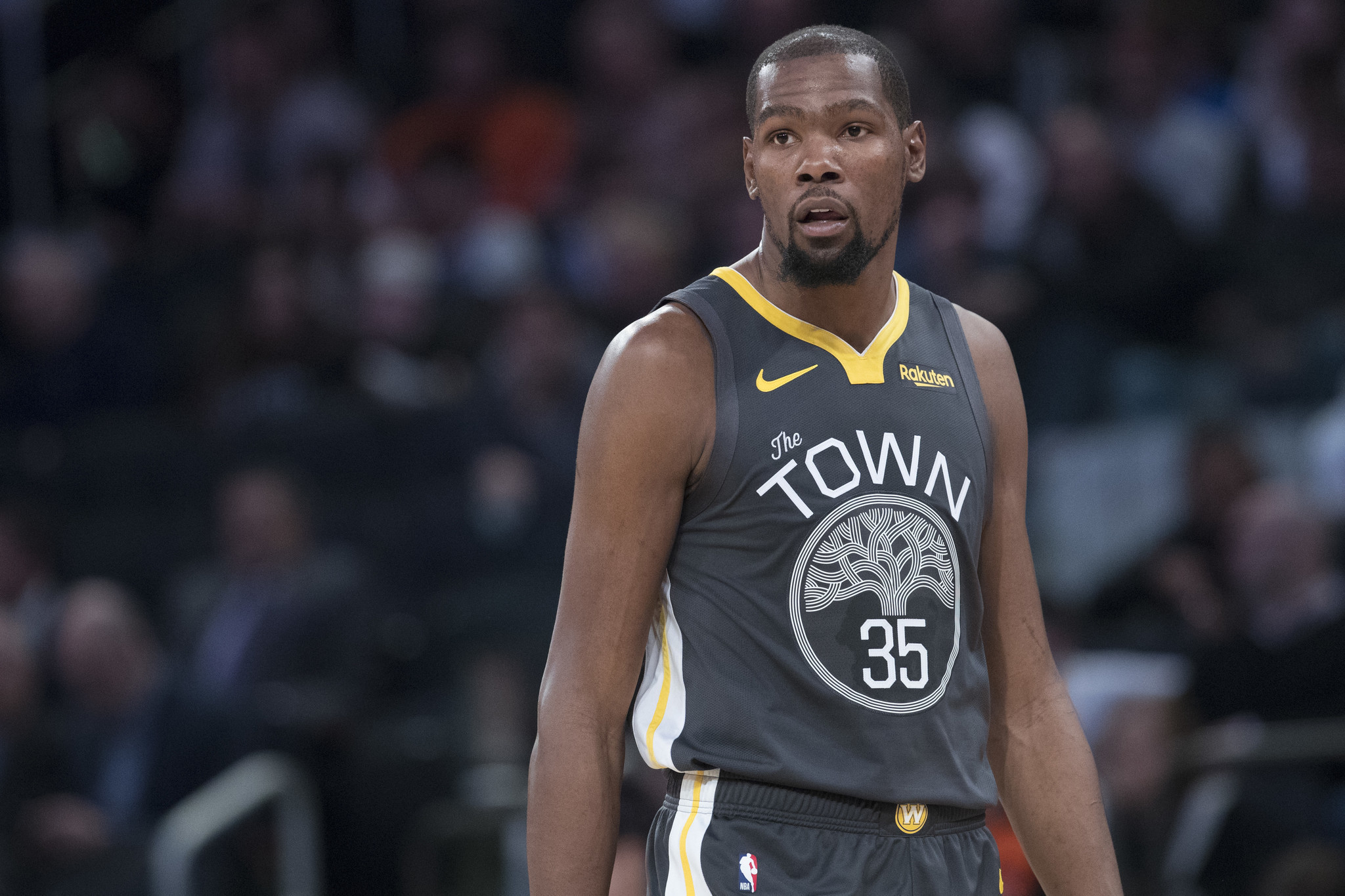 a8216dd4fab ... 2019 Kevin Durant photo reportedly included in Knicks  pitch to renew  season tickets. NY Daily News - 18 20 PM ET February 10