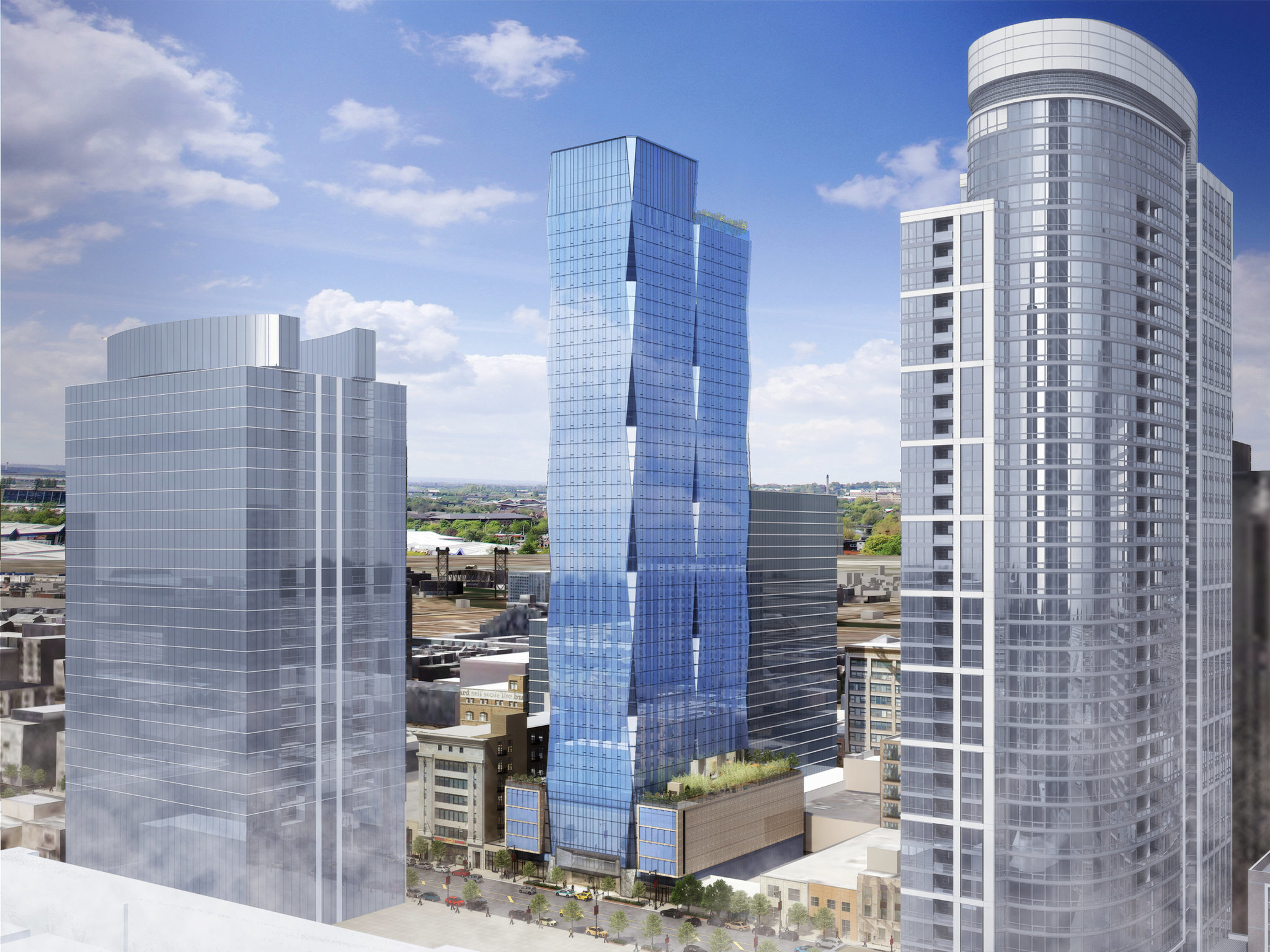 South Loop S Building Boom A Look At 3 Residential Towers Set To Open Soon Chicago Tribune