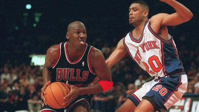 3d53f402314b The Pose. The Flu Game. The Shrug. Michael Jordan s top 56 moments ...
