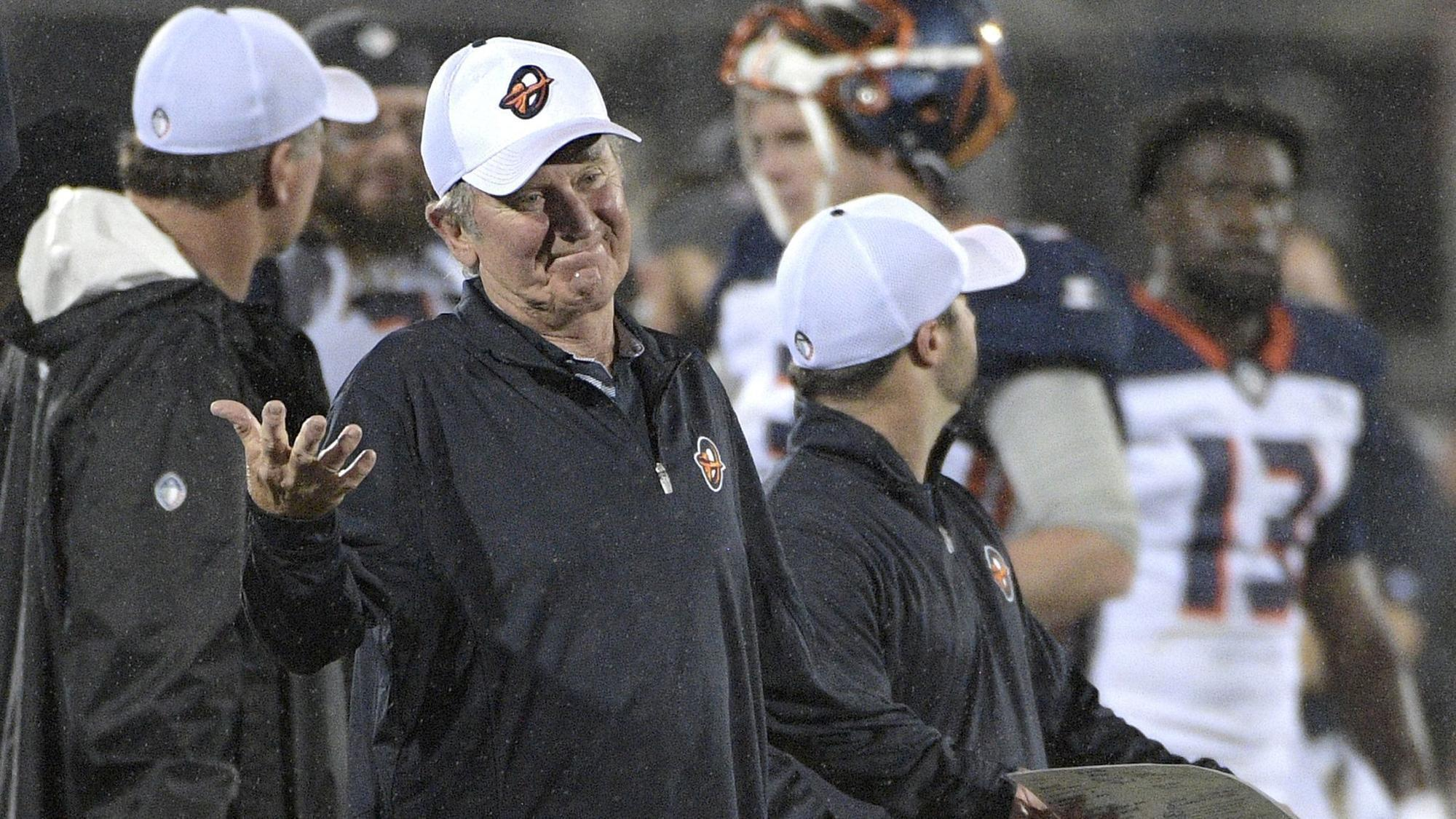 Steve Spurrier Says Orlando Apollos Launch Differs From