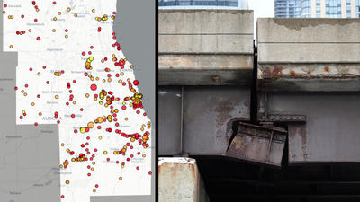 Are Chicago-area bridges near you deteriorating? Search our interactive map