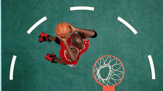 a2a84ec12b78 Michael Jordan through the years