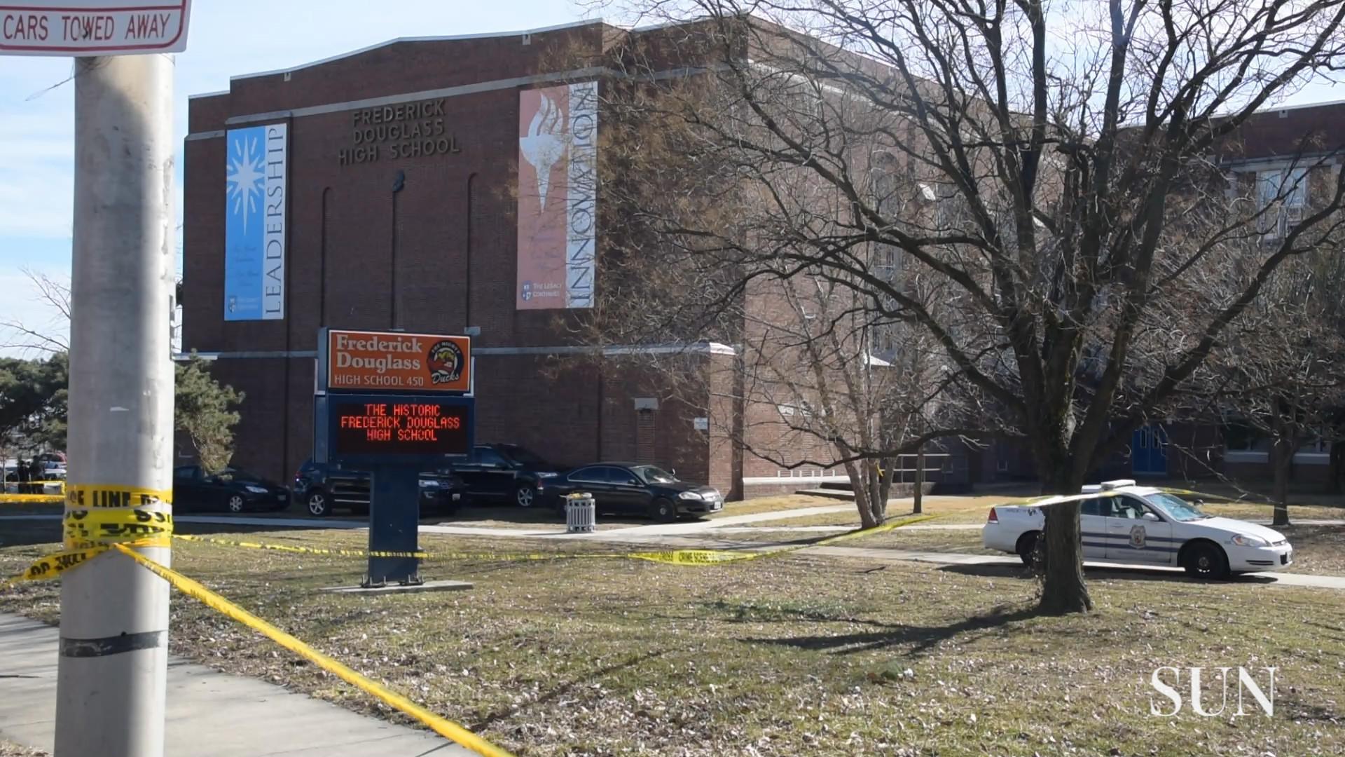Staffer Shot At Baltimores Frederick Douglass High School Remains