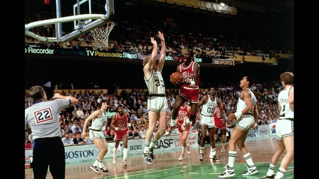 f92d3e82165e The Pose. The Flu Game. The Shrug. Michael Jordan s top 56 moments ...