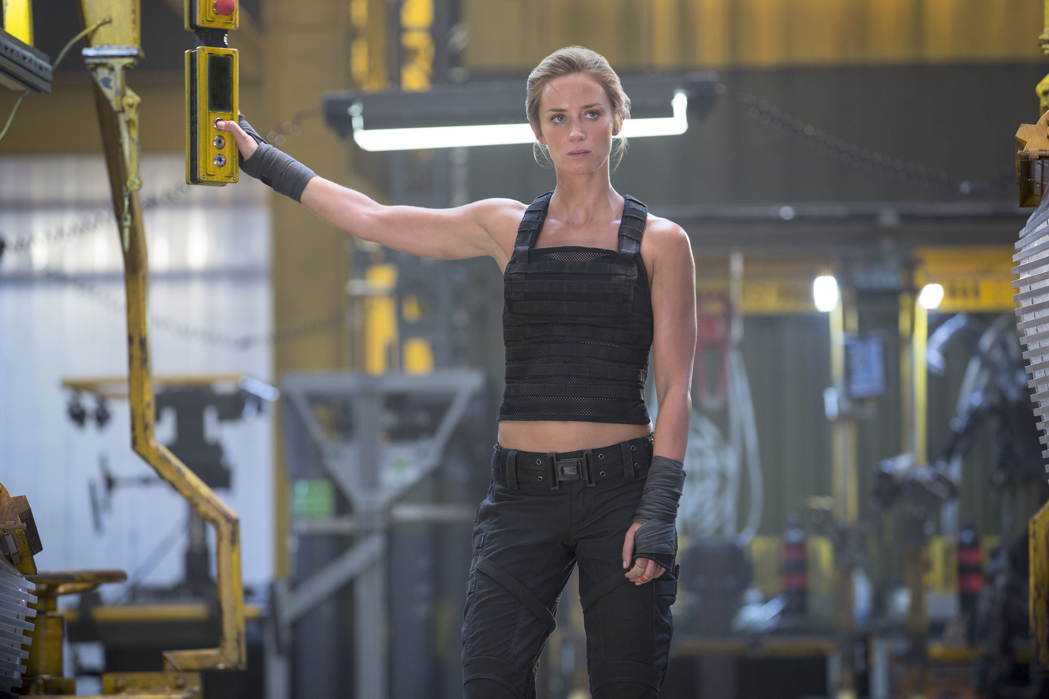 EMILY BLUNT as Rita in Warner Bros. Pictures' and Village Roadshow Pictures' sci-fi thriller movie