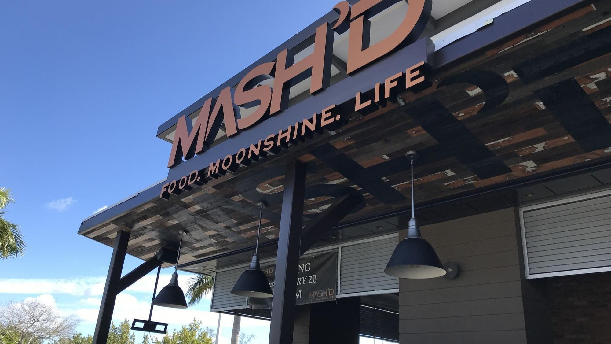 Mashd Moonshine Restaurant Opens Wednesday At Davie Tower Shops