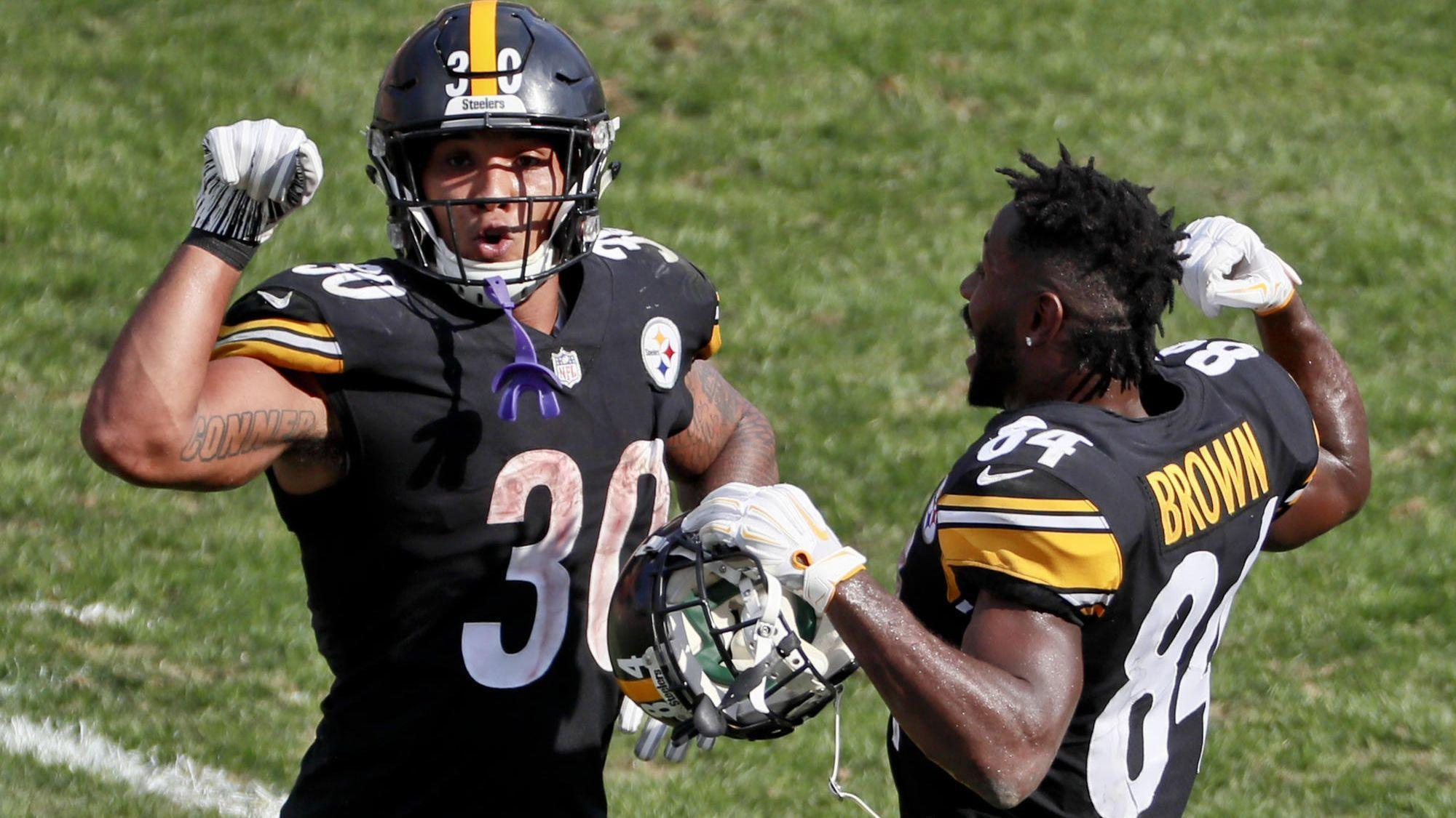ebd87a20918 Steelers let Le Veon Bell go to free agency and are exploring Antonio Brown  trade - Chicago Tribune