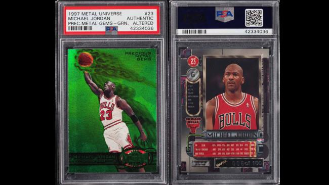 3226bbcf2b6 Holy grail  Michael Jordan card sells for  350