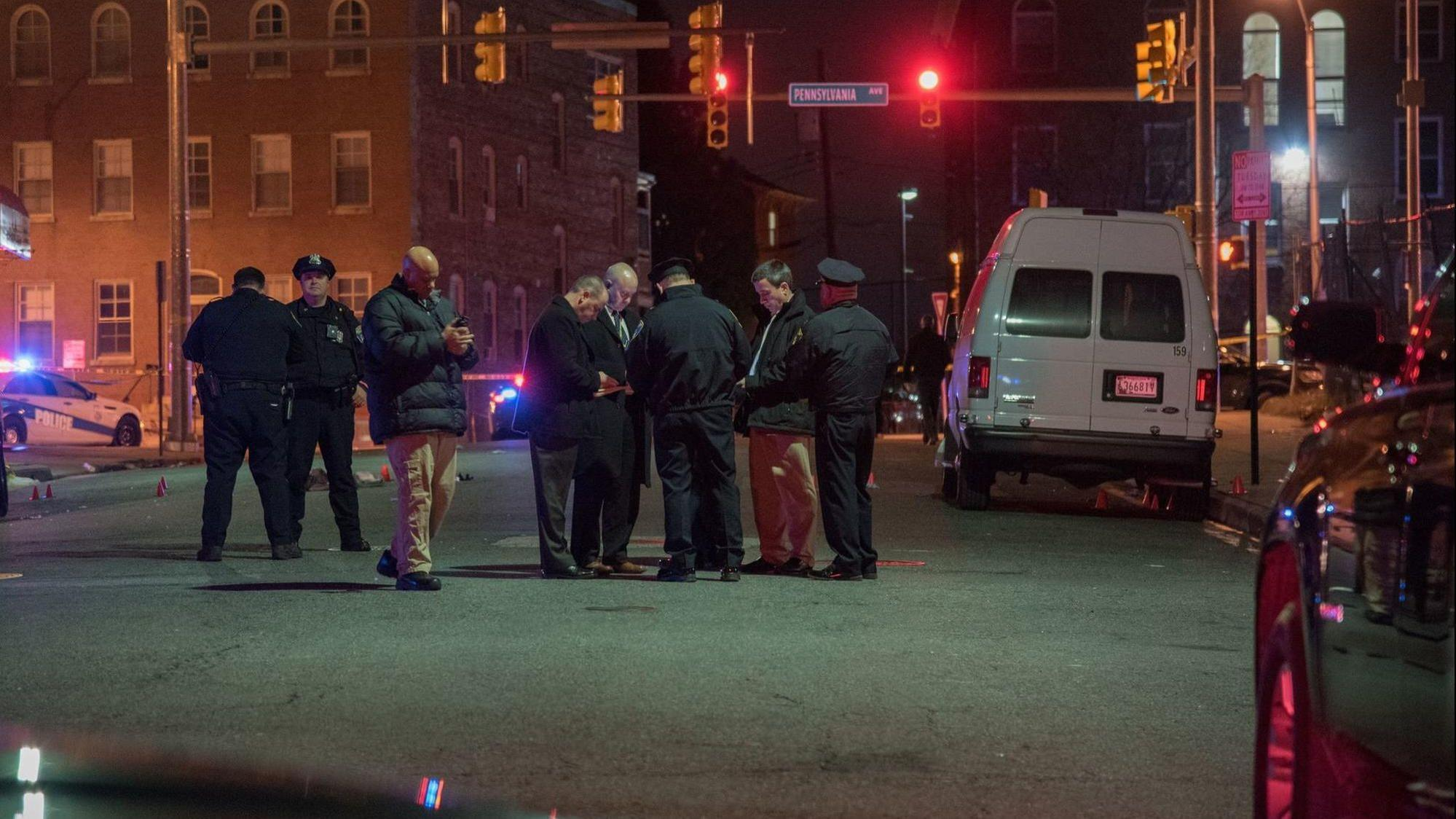 14 Shot In 24 Hours In Baltimore Five In Single West Baltimore