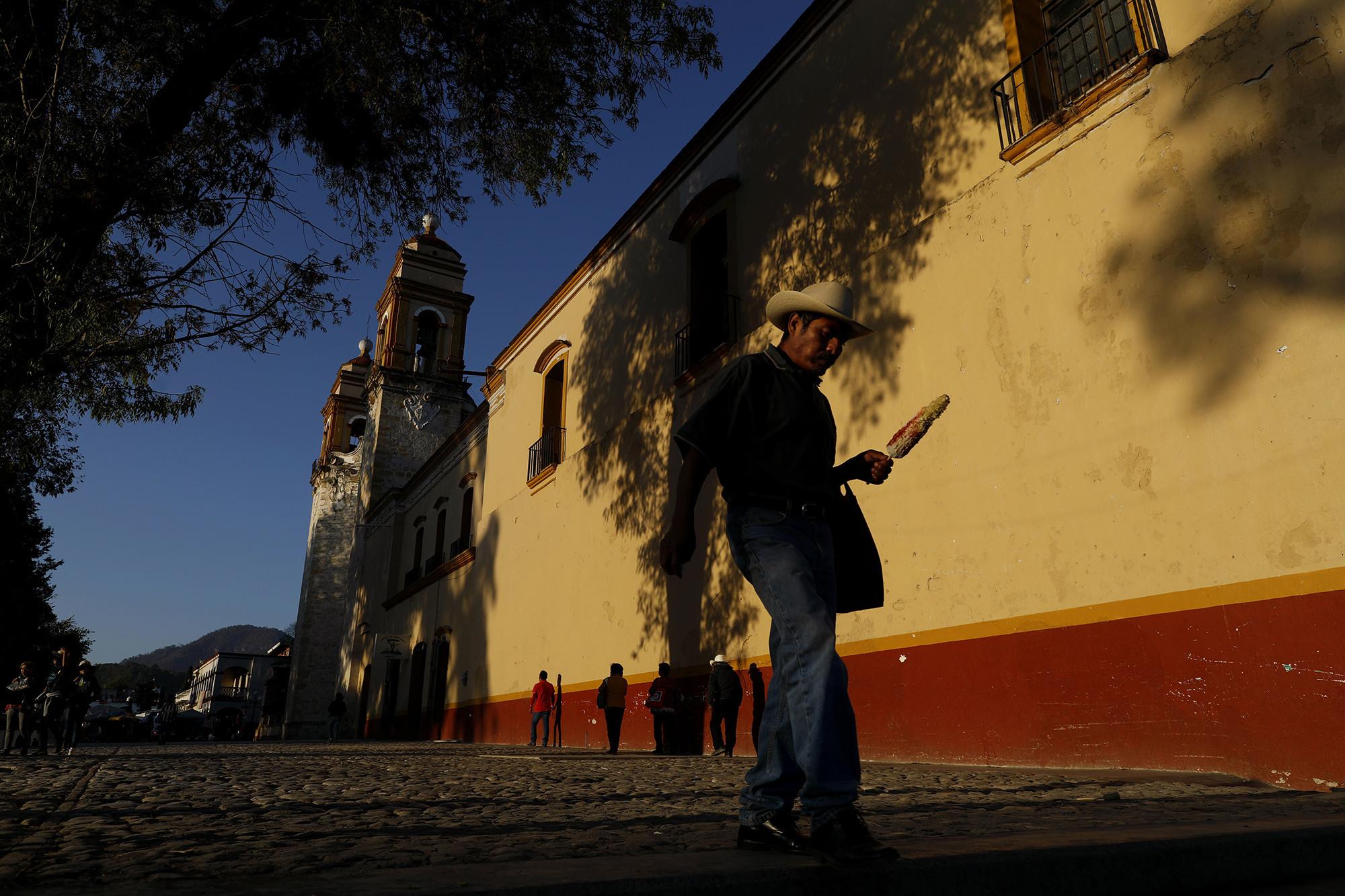 TLAXIACO, OAXACA — MONDAY, FEBRUARY 4, 2019: Nuestra Señora de la Asuncion Catholic church that an