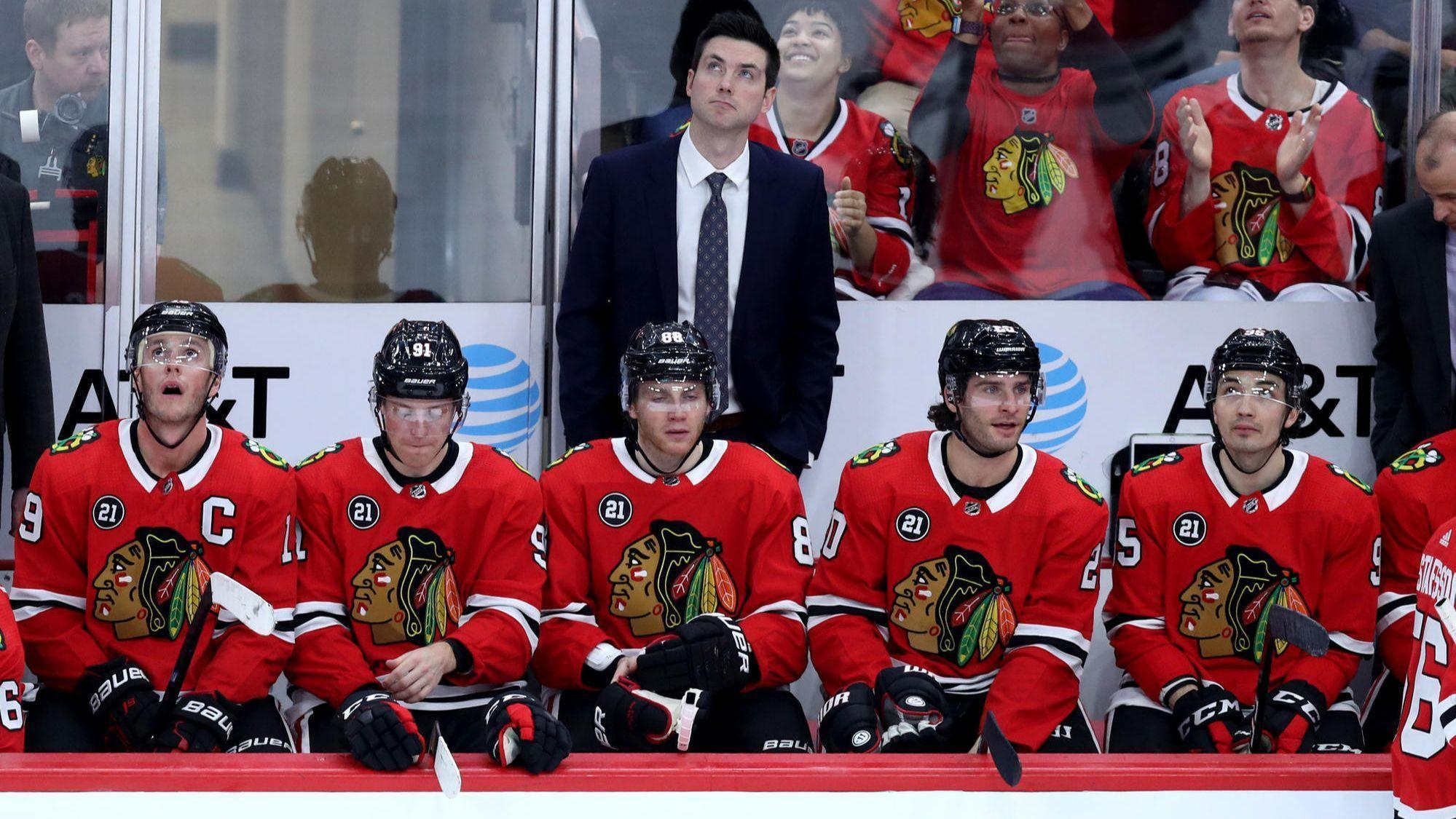 Blackhawks' playoff hopes likely to do or die based on their next seven games