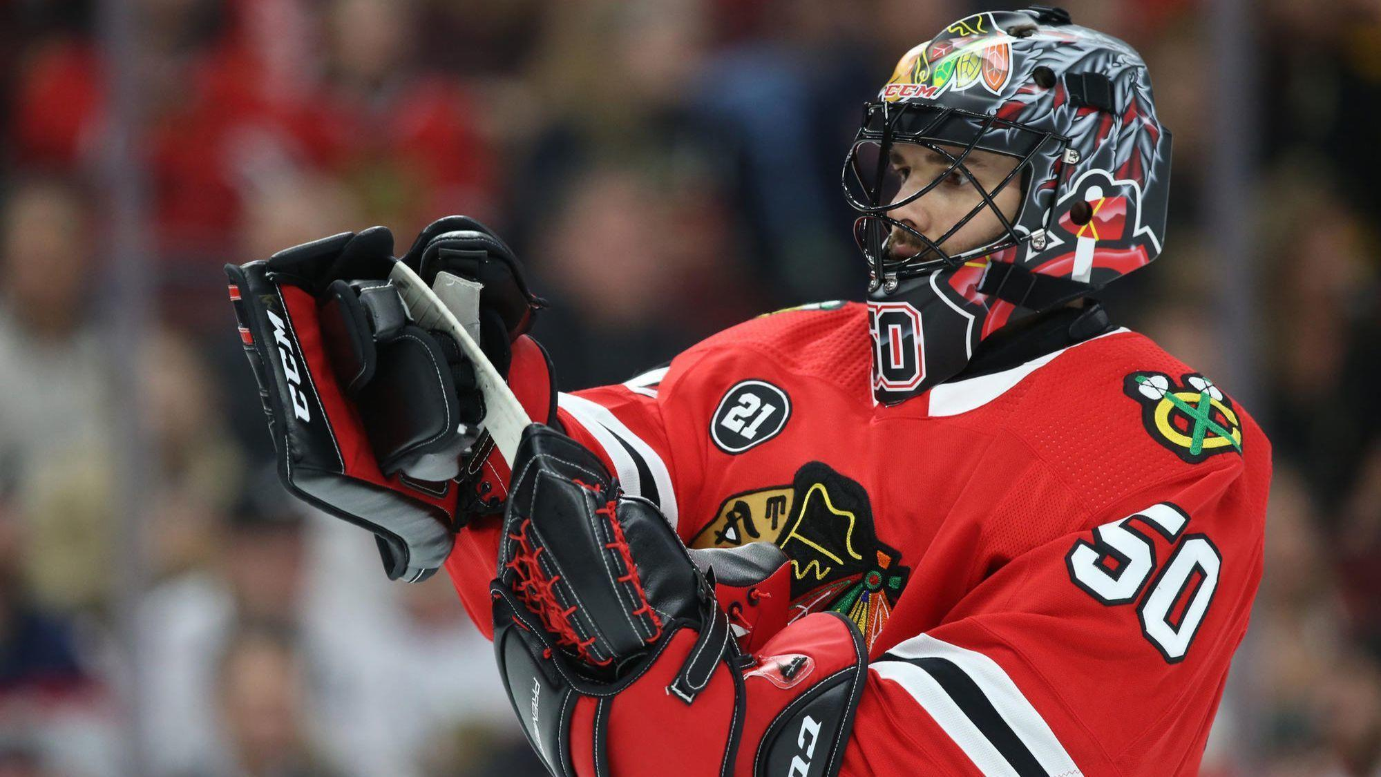 Corey Crawford could finally see action on Blackhawks' important 3-game West Coast road trip