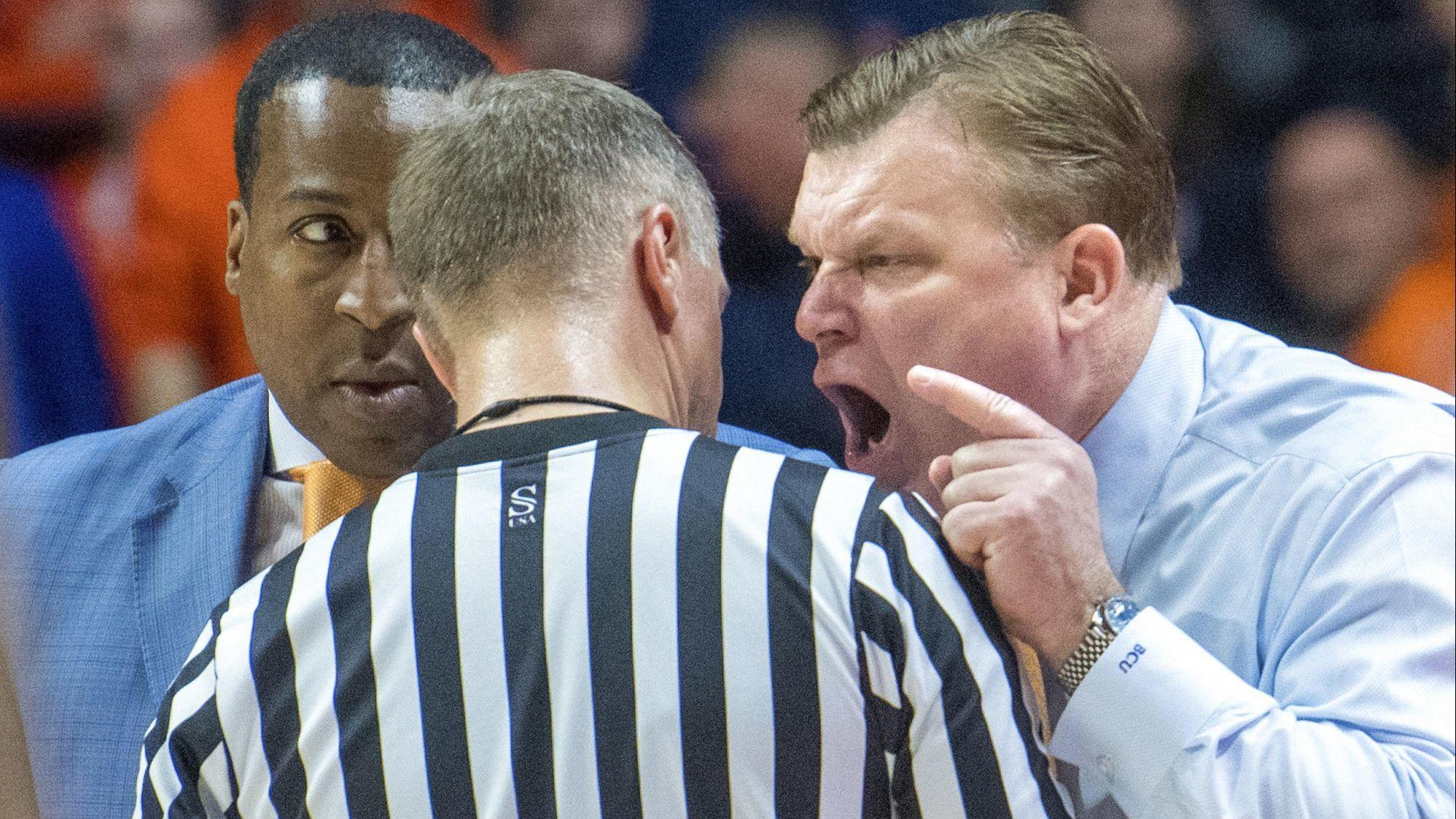 Coach Brad Underwood kick-starts a rally, but Illinois falls to Penn State 83-76