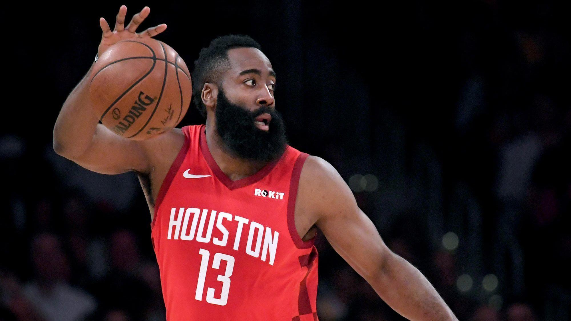 NBA fines Rockets' James Harden $25,000 for criticizing officials