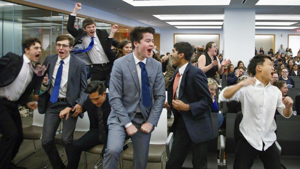 High School Lawyers Argue Their Way Through Mock Trial Competition