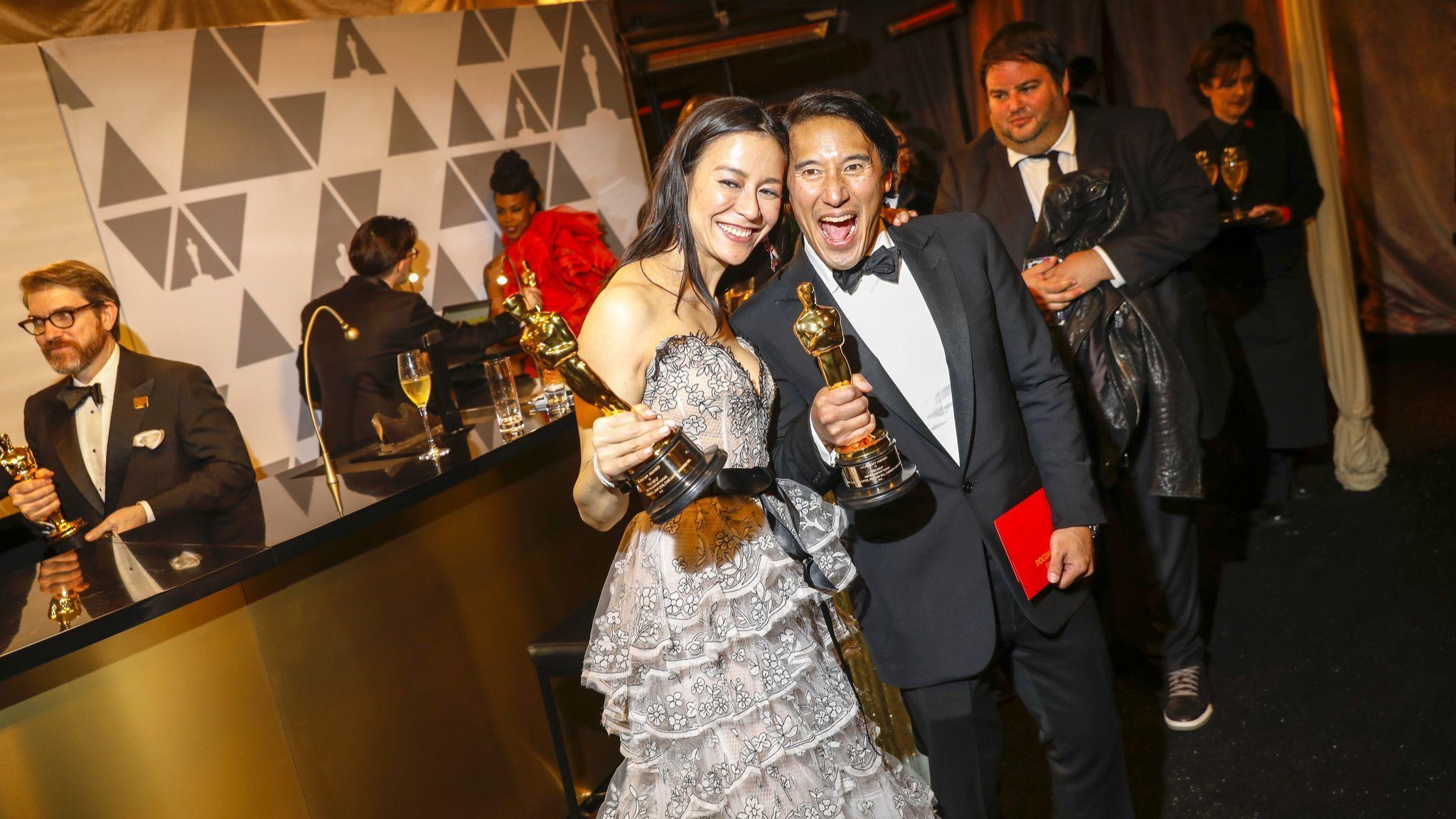 Jimmy Chin and Elizabeth Chai Vasarhelyi
