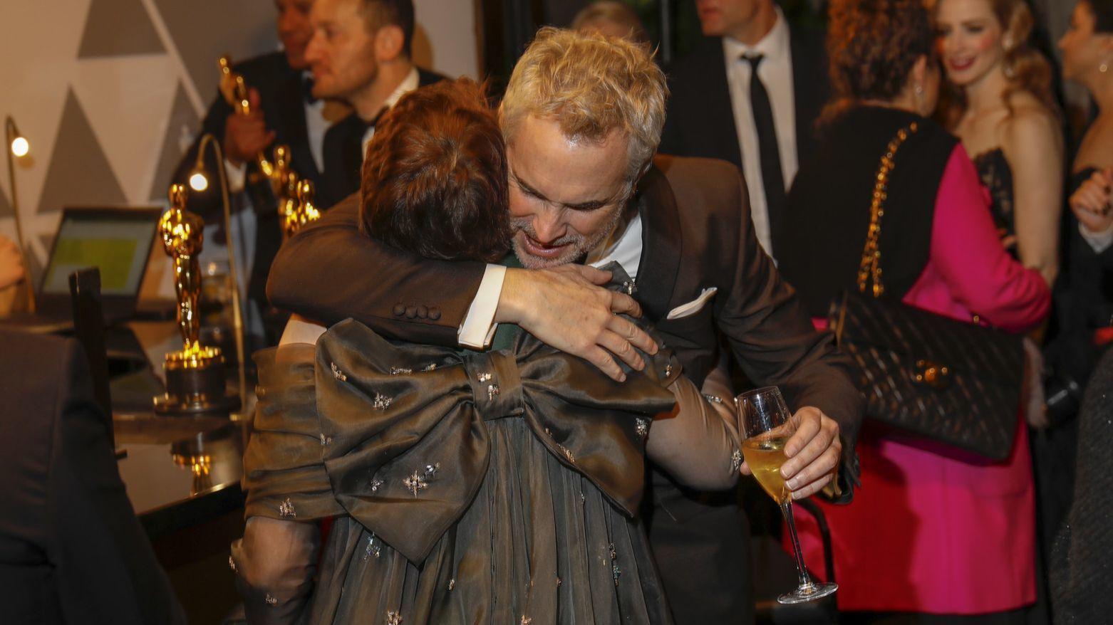 Alfonso Cuaron, Olivia Colman