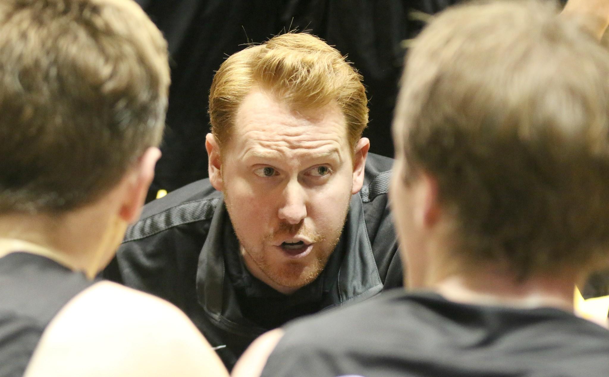 Head Coach Sam Eshelman was calling the shots for the Carlsbad boys.