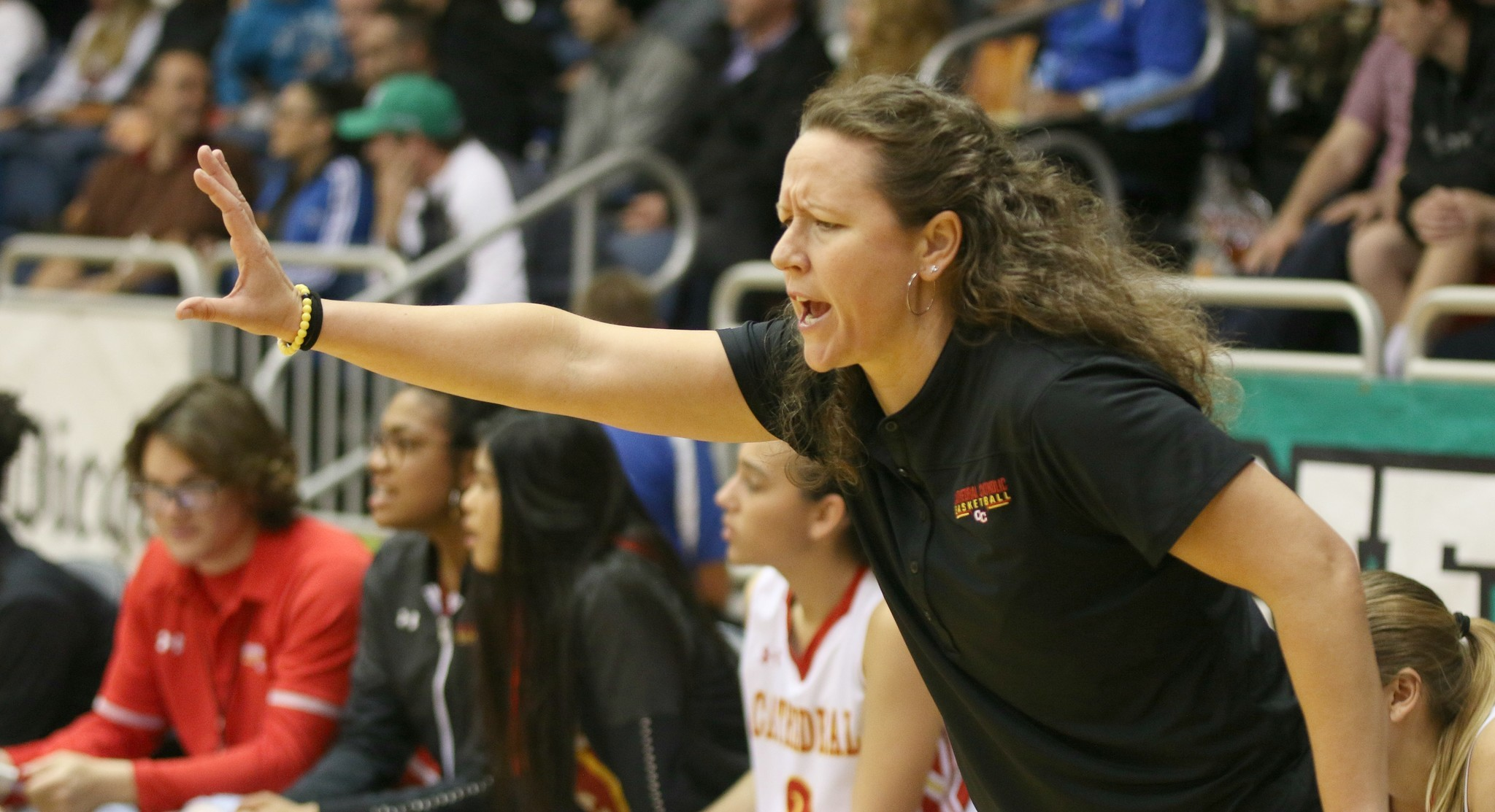 Head Coach Jackie Turpin directed the Dons to their first Open Division title.