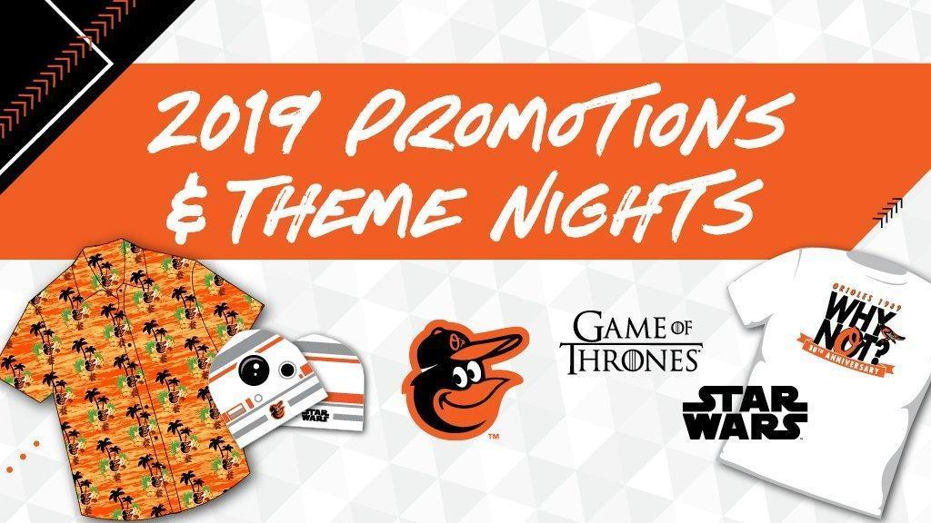orioles giveaway nights 2019 orioles announce 2019 promotional schedule individual 4855