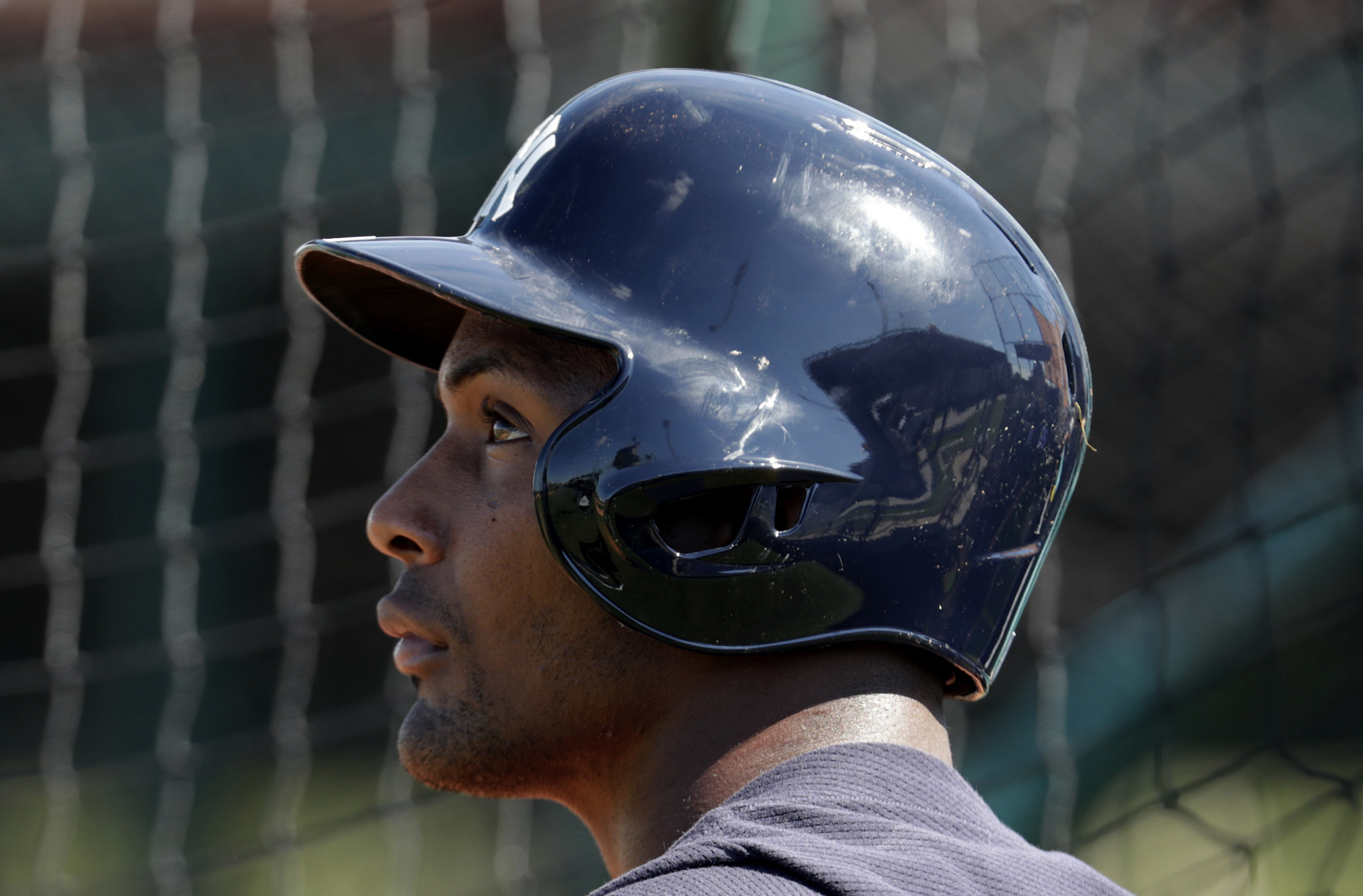 Miguel Andujar is just happy to be able to play again (even if it was in a spring training game)