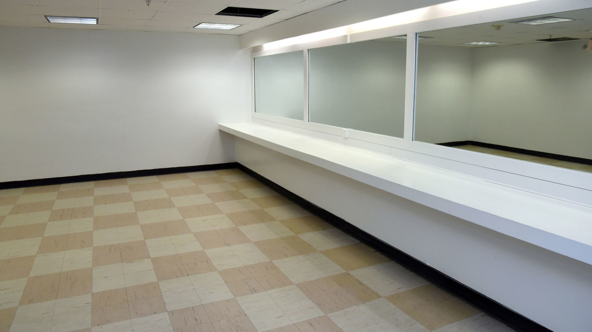 A restroom at Pimlico Race Course