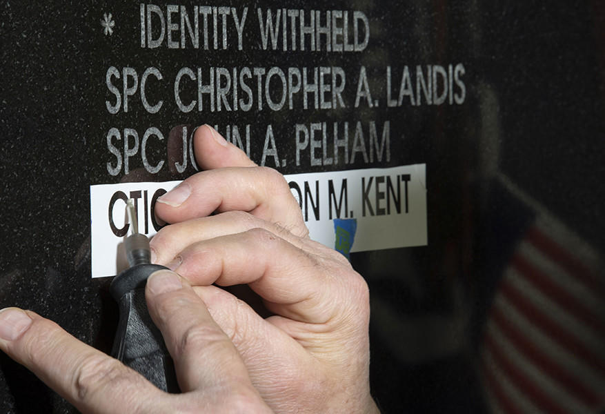 NSA adds name of Fort Meade sailor killed in Syria to National Cryptologic Memorial