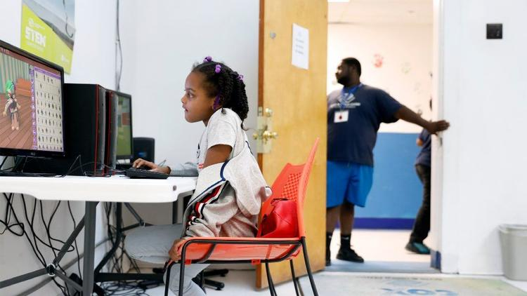 When home internet access is too expensive, low-income residents turn to other resources