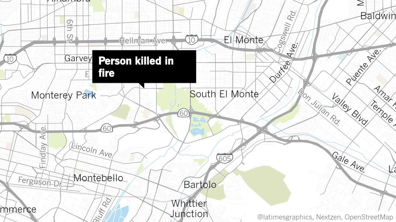 One Dead In Suspicious Townhome Fire In Rosemead The San Diego