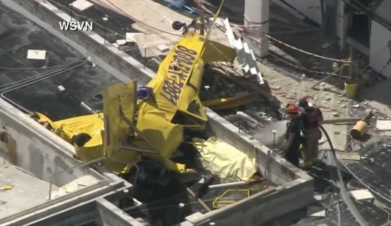 Small plane crashes into building on Fort Lauderdale beach