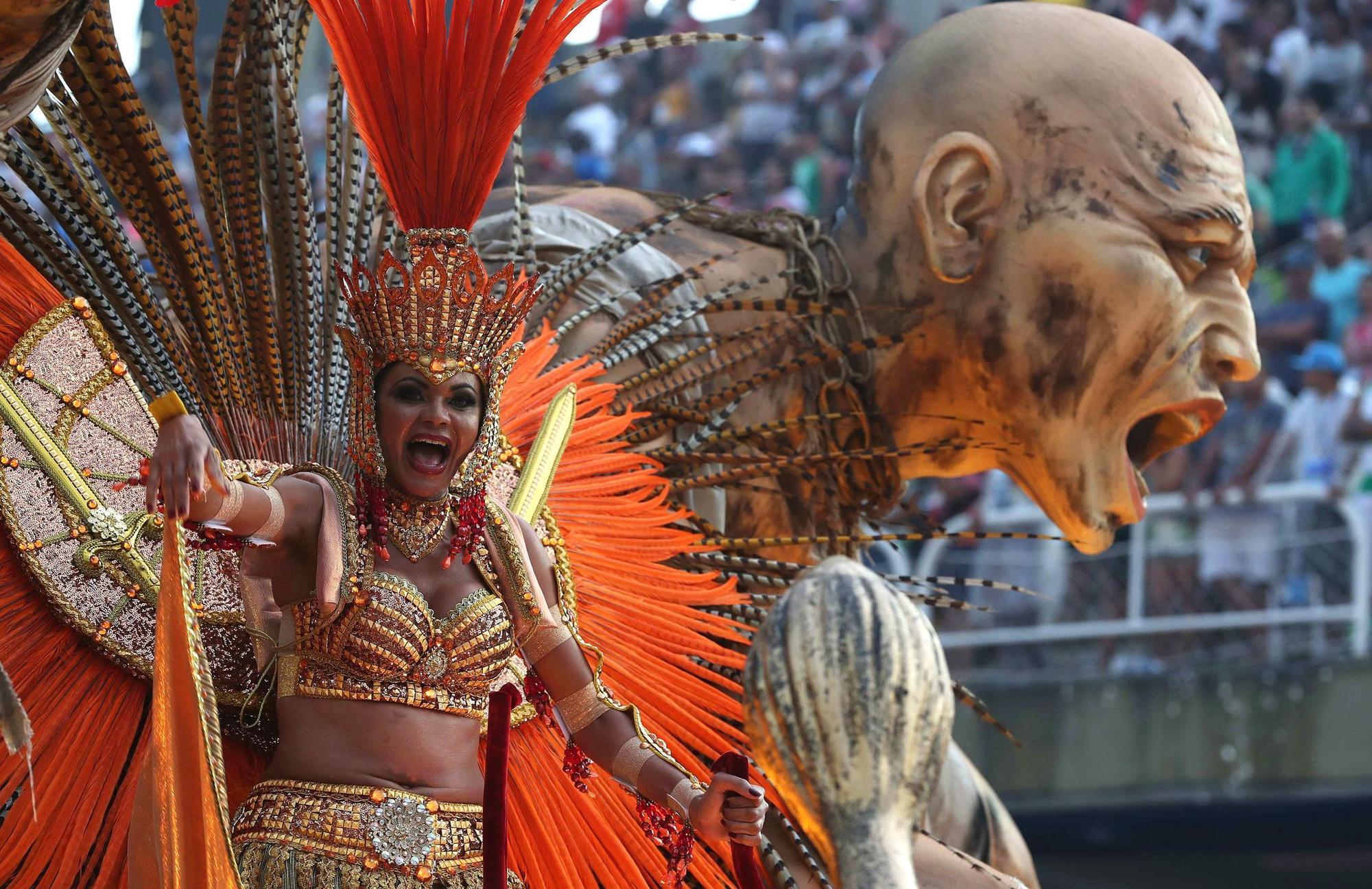 Rio's 2019 Carnival at the Sambadrome