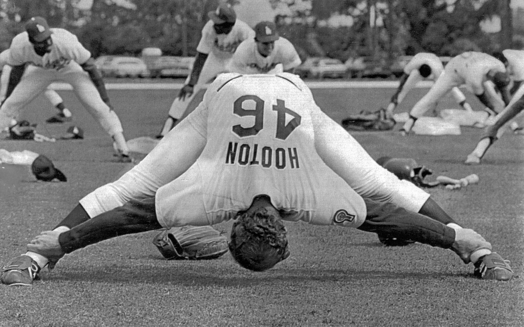 Feb. 26, 1982: Dodgers' Burt Hooton