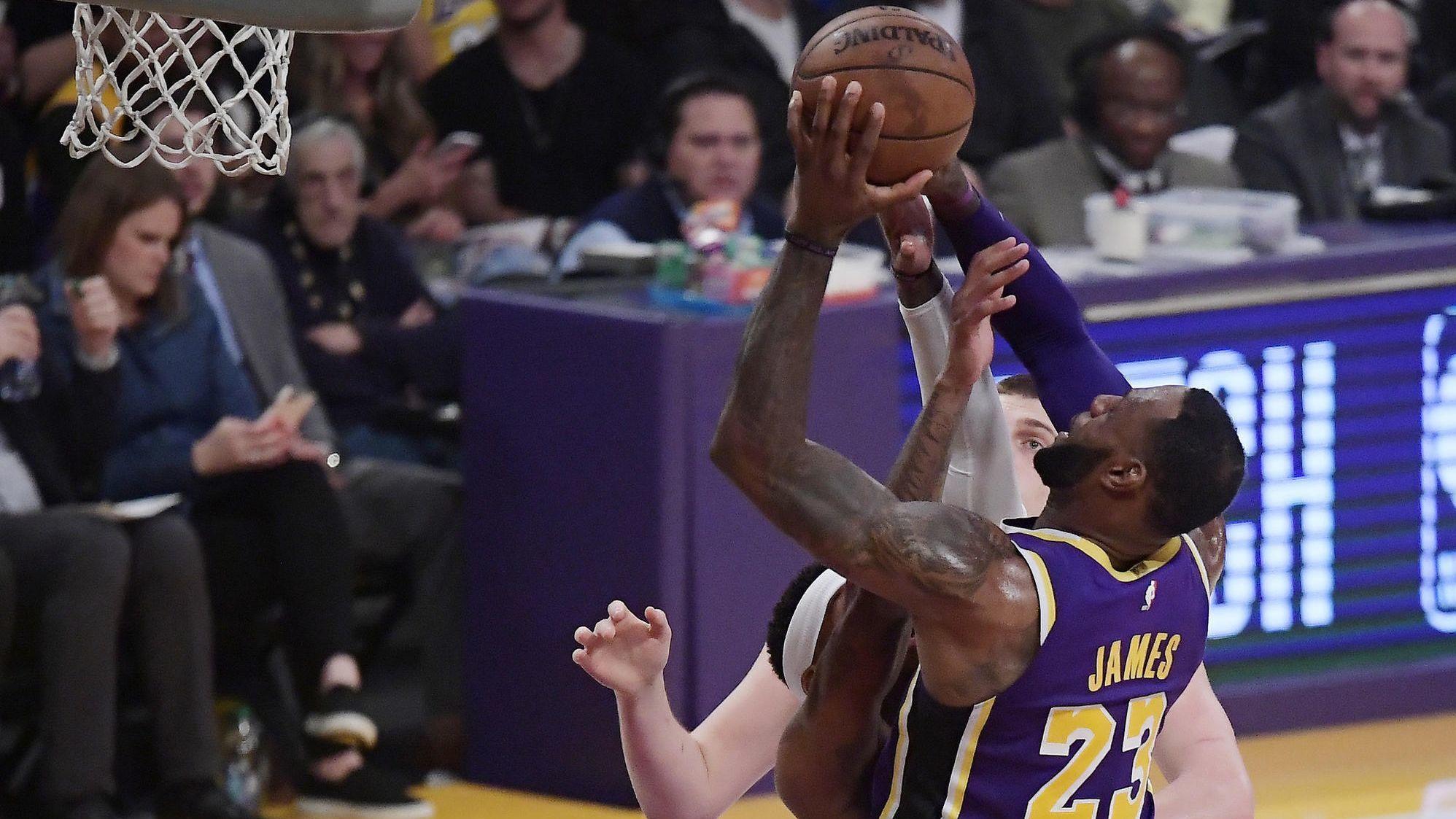 6899f34ec0ac34 LeBron James passes Michael Jordan for 4th in career scoring ...