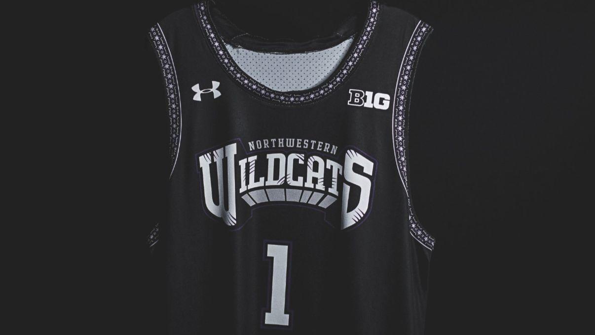 33bce8ee3de Northwestern seniors design fierce uniforms for their final home basketball  game