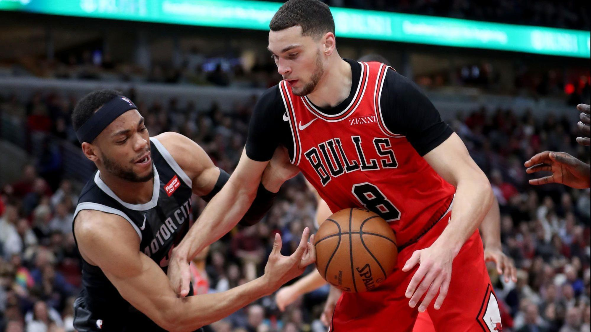 71535d98e619 Zach LaVine keeps taking it to the rim — and finishing   He s worked hard