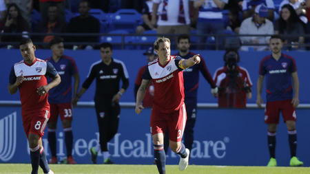 fe59077b784 FC Dallas earn 2-0 win over Zlatan-less LA Galaxy