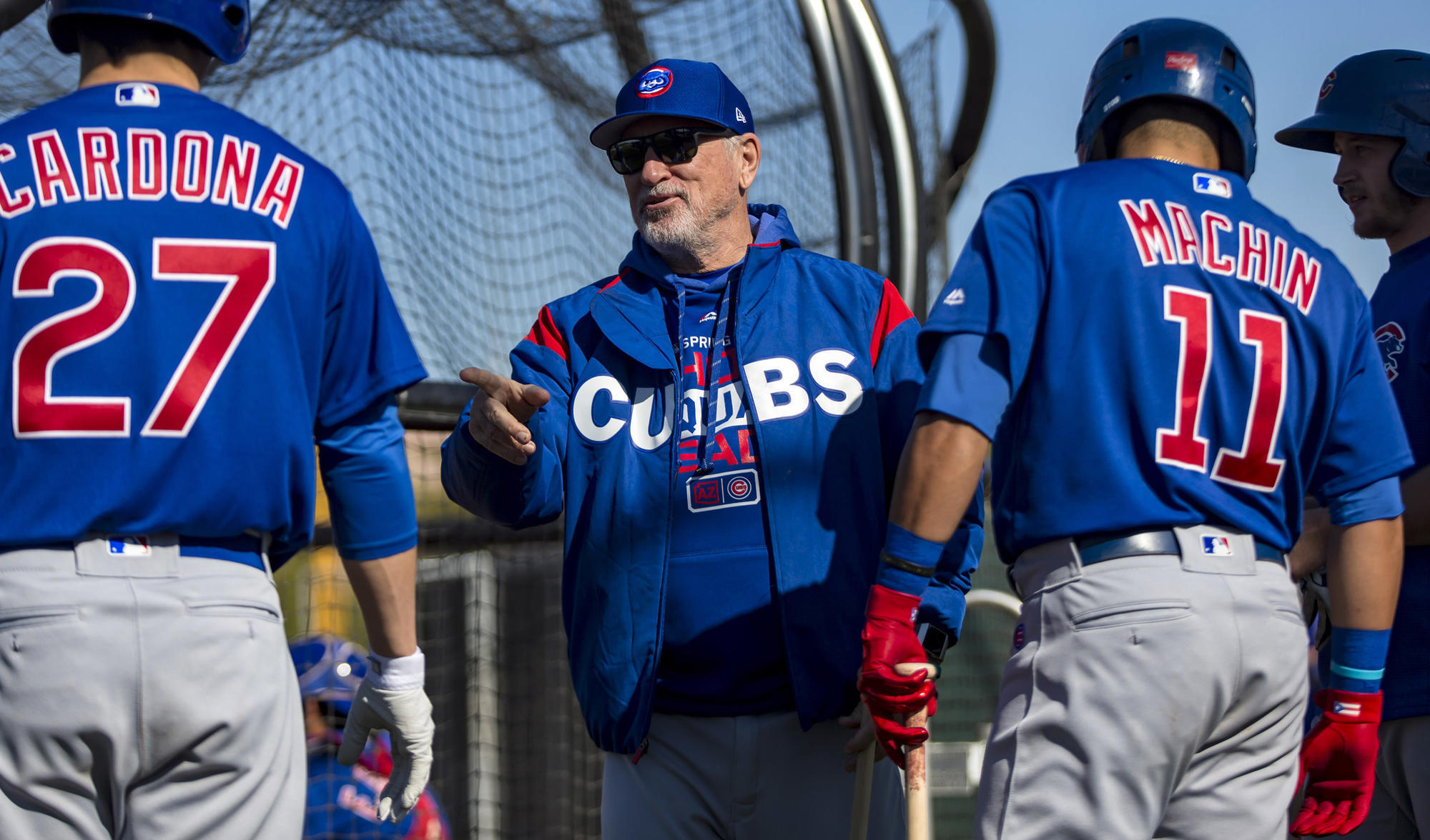 69def952 For Cubs' Joe Maddon, this looks like a World Series-or-bust season ...